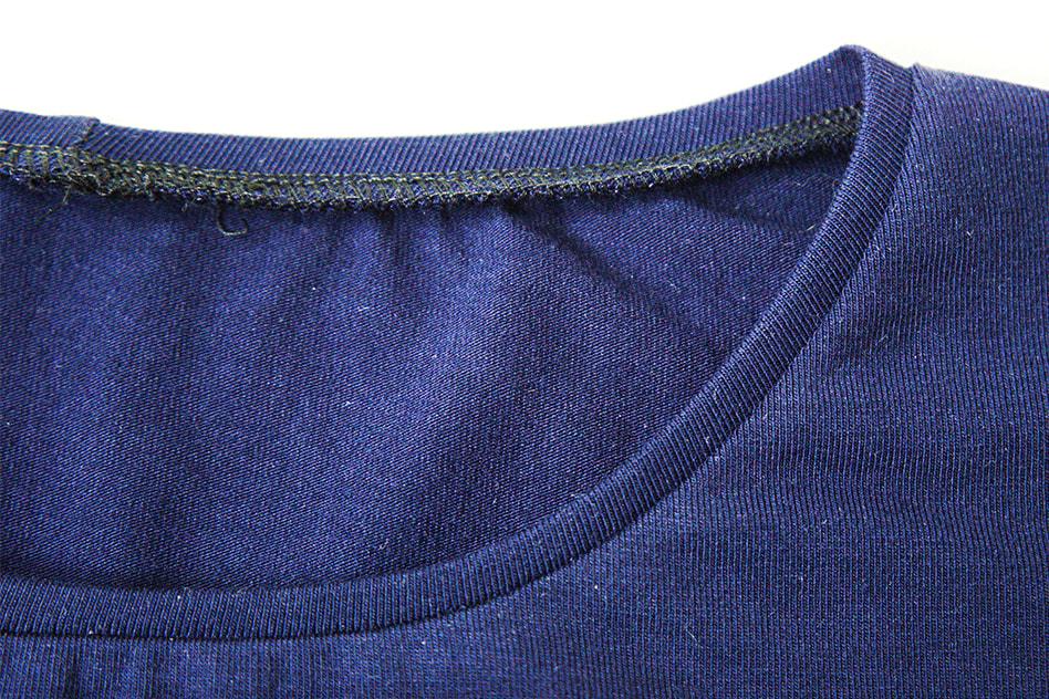 Ompele pääntien kaitale kiinni joustavalla ompeleella
