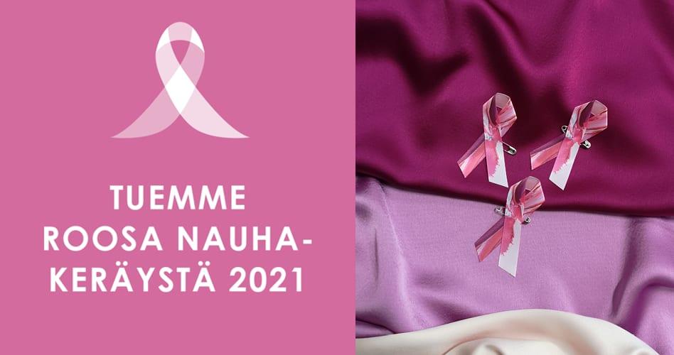 Eurokangas mukana Roosa Nauha -kampanjassa