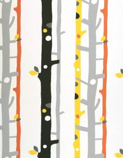 TREES -paloturv. verhokangas keltainen