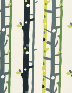 TREES -paloturv. verhokangas vihreä