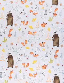 LADY FOXIE -pimennyskangas oranssi