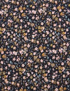 TINY FLOWERS tummansininen