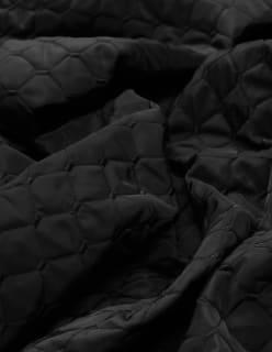 ELLEN -tikkikangas musta
