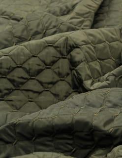 ELLEN -tikkikangas tummanvihreä