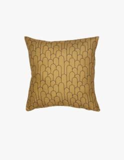BAND -tyynynpäällinen 45x45 cm keltainen