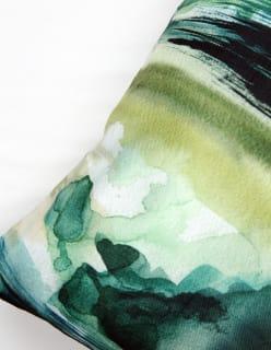 GREEN LAND -tyynynpäällinen 45x45 cm vihreä