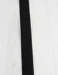 TARRANAUHA 2cm liimattava, pehmeä puoli musta