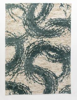 SILMUKAT -matto 140x200 cm tummanturkoosi