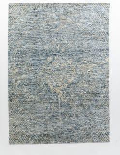 TÄHTISUMU -matto 140x200 cm vaaleansininen