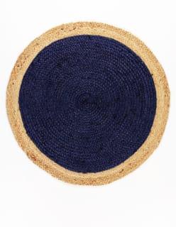 LAUTTA -matto D120 sininen