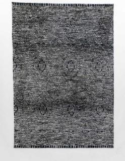 VAAKUNA -matto 200x300 cm tummansininen
