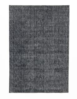 LOUHI- matto 140x200 cm tummaharmaa