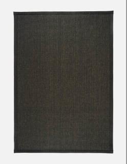 ESMERALDA MATTO 160x230 cm musta