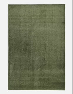 SATINE POLYAMIDIMATTO 200x300 vihreä
