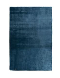 SATINE POLYAMIDIMATTO 200x300 sininen
