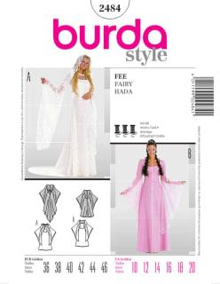 BURDA-2484 valkoinen