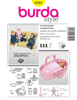 BURDA-8591 keltainen