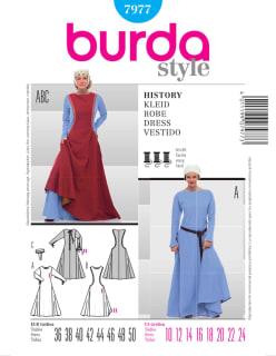 BURDA-7977 sininen
