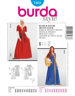 BURDA-7468 sininen
