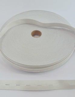 REIKÄKUMINAUHA 18mm valkoinen