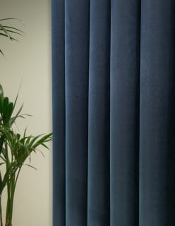 NAPOLI FR -sametti sininen
