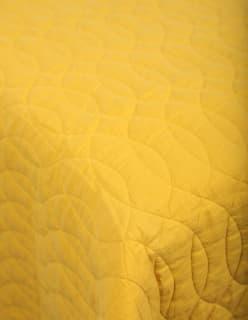 AALLOILLA -peitekangas keltainen