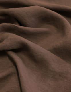 HAMILTON -pellava tummanruskea