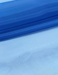 DULCINEA-silkkiorganza sininen