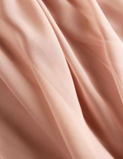 SERATA -sifonki vaaleanpunainen