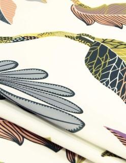 TAHITI -paloturv. verhokangas keltainen
