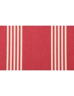 OXFORD STRIPE punainen
