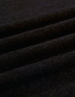 WOOL BOUCLE dark brown