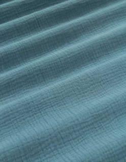 TUULI -double gauze sininen