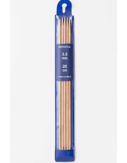 KOIVU SUKKAPUIKOT 3,5 mm beige