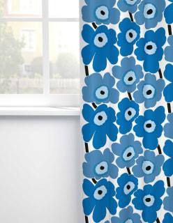 PIENI UNIKKO -puuvillakangas sininen