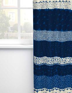 JURMO -puuvillakangas sininen