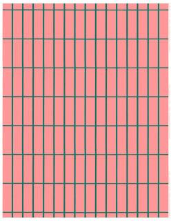TIILISKIVI -puuvillakangas vaaleanpunainen