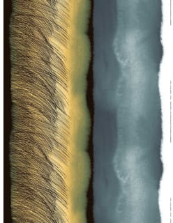 KUUSKAJASKARI -pellavakangas keltainen