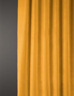OTTOMAN -sametti keltainen