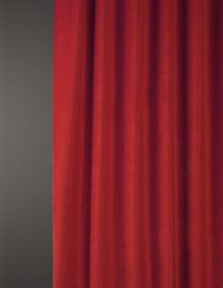 OTTOMAN -sametti punainen
