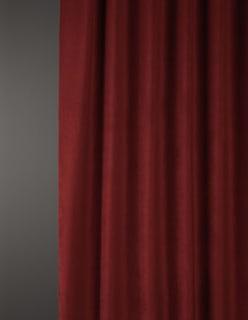 OTTOMAN -sametti tummanpunainen