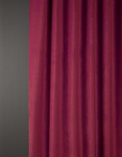 OTTOMAN -sametti aniliininpunainen