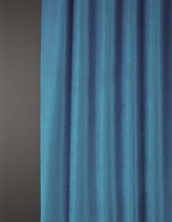 OTTOMAN -sametti sininen
