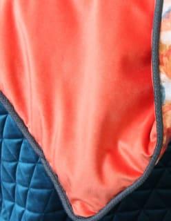 OTTOMAN -sametti oranssi
