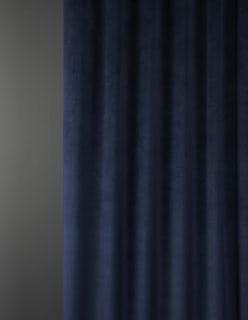 OTTOMAN -sametti tummansininen