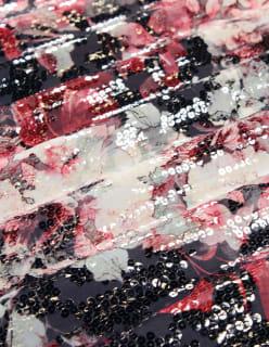 ROSE LILY- paljetti punainen