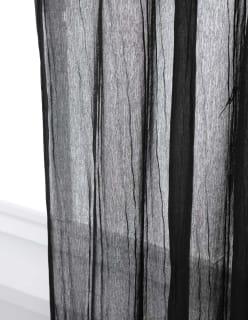 LAINEILLA -valmisverho musta