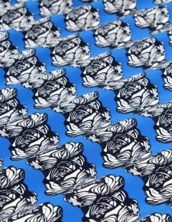 WILD ROSE trikoo sininen