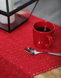PERINNE -kaitaliina punainen