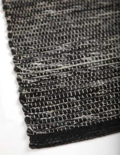 VALLI -matto 80x150 cm tummaharmaa